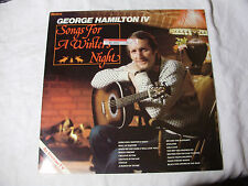 GEORGE HAMILTON IV - Songs For a Winter's Night - LP Record