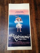 Un Matrimonio locandina poster A Wedding Robert Altman Geraldine Chaplin Gassman