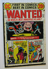 Wanted/World's Most Dangerous Villains #3 (DC 11/72) VF Nick Cardy-c/a.Nice!!!