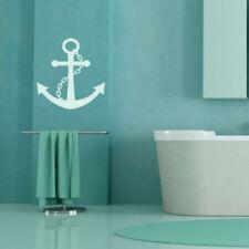 Décorations murales et stickers nautique pour la salle de bain