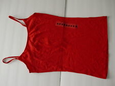 New Planet Gold Juniors' Solid Color Iory Red Top Sise Medium M