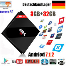 H96 Pro Plus TV BOX Android7.1 Amlogic S912 Octa Core 3+32GB 2.4+5.8G WiFi 3D 4K