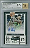 2017-18 JORDAN BELL Panini Contenders Draft Picks College Ticket Auto RC AU BGS