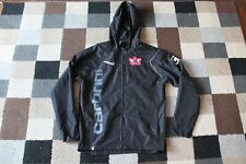 EXETER CITY FC Carbrini RAIN COAT 2009-2011 (Large L) Vintage RARE Hooded Jacket