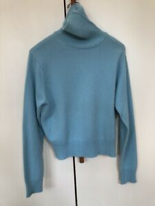 Authentic johnstons of elgin cashmere men's turtleneck sweater. 100% Cashmere.