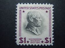 1938 #832 $1.00 Woodrow Wilson Presidential Issue MNH OG