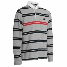 Men's Striped Button Down Rugby Casual Shirts & Tops