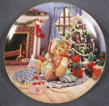 Happy Holidays Friend Collector Plate Cherished Teddies Priscilla Hillman
