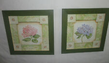 4 Your Home Interiors  Set of 2 - Pink & Blue Hydrangeas '' Pictures  SALE