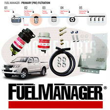 FM612DPK - Fuel Manager Kit- Suits Hilux KUN26 - 30 Micron Pre-Filter kit