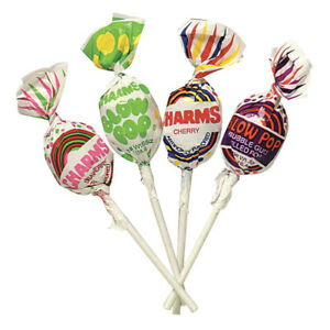 Charms Assorted Blow Pops Retro Candy  - BULK FRESH - 1/4LB to 10LBS - FREE SHIP