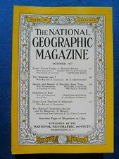 National Geographic Magazine October 1957 Vintage Ads Car Truck Advertising