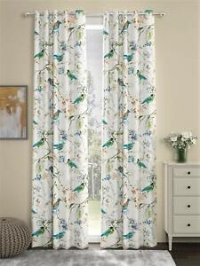 New 2 Piece Door Curtain Set - 7 feet