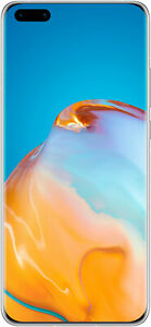 Huawei P40 Pro 256GB Dual-SIM frost silver 5G ohne Simlock - Zustand gut