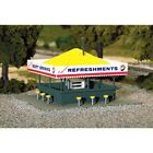 Atlas 715 HO Scale Refreshment Stand KIT Detailed, Molded in Color, No Painting