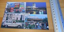 Post Card Evening Standard London  Taxi