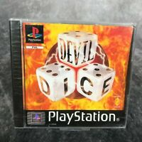 Devil Dice PS1 PlayStation 1 PAL Game NEW Sealed Rare Sony Multi Language Puzzle