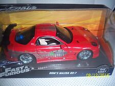 Fast & Furious  Dom's Red Mazda RX-7 New in The Box. And Sold Out