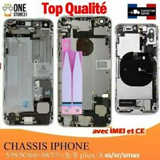 chassis coque arrière avec nappes  IPHONE 5/5s/5c/6/6plus /6s plus /7/8/plus/xs