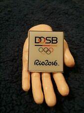 Olympic Pin: Rio Olympic Pin 2016 Rio Olympic Pin DOSB German Olympic Sports Fed