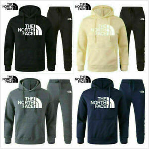 Men's Tracksuits Set The North Face Hoodie Bottoms Jogging Sweatershirt Pullover