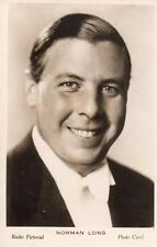 Norman Long British Radio Pictorial Photo Card Broadcasting BBC 1930's