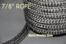 "7/8"" Black  Gasket rope 60 Feet Outdoor Stove Pellet wood Stove Furnace Boiler."