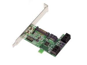 Replicatore Porta Multiply 5 Porte SATA 6G Chipset JMB575