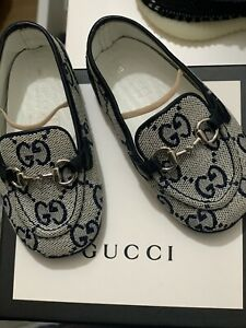 Baby Gucci Loafers Size 18