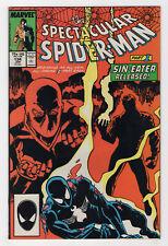Spectacular Spider-Man #134 (Jan 1988, Marvel) Sin-Eater Electro David Buscema v