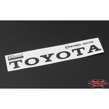 RC4WD Metal Vintage Rear Emblem for TF2 Mojave Body (Black) VVV-C0293