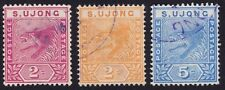 S.UJONG 1891-94 Isc50-52 Tiger set 3v -Used @TA500
