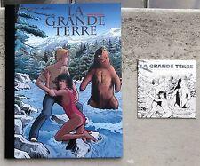 La Grande terre ( Etre Libre ) TT n. et s. Marc Bourgne + CD Neuf