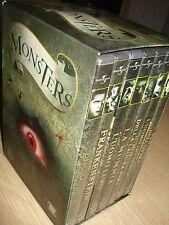OPERA COMPLETA BOX COFANETTO + 7 DVD MONSTERS L'UOMO LUPO LA MUMMIA DRACULA