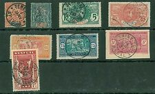 SENEGAL : SMALL LOT OF USED STAMPS