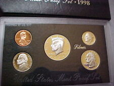 SILVER PROOF SET USA US MINT 5 COINS 3 SILVER