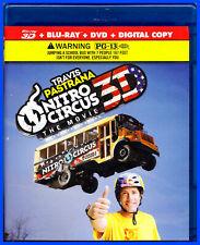 TRAVIS PASTRANA NITRO CIRCUS THE MOVIE BLU-RAY 3D 2D & DVD + DIGITAL PERFECT!