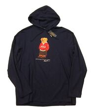 Polo Ralph Lauren Men's Cruise Navy Polo Bear Graphic Hooded T-Shirt