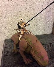 Star Wars POTF - DEWBACK & SANDTROOPER - Animal & Figure -Excellent Condition!