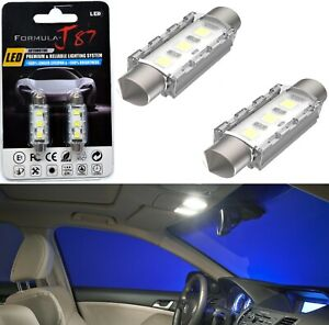 LED 5W Light CANbus 6411 White 6000K Two Bulb Interior Dome Replacement Upgrade