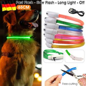 Leuchthalsband LED-USB Ikaufen Flash Hund Leuchtschlauch Hundehalsband USB