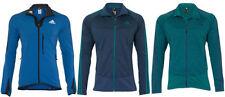 adidas Men's Polyester Fleece Hip Length Coats & Jackets