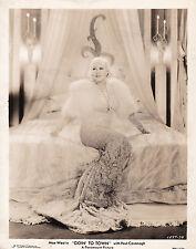 Mae West Goin' To Town Alexander Hall Original Vintage 1935