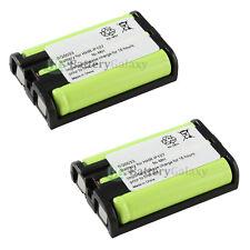 2 Cordless Phone Battery for Panasonic HHR-P107 HHRP107
