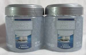 Yankee Candle Fragrance Spheres Odor Neutralizing Beads Lot of 2 LIFE'S A BREEZE