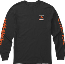 EMERICA X BRONSON L/S T- SHIRT BLACK