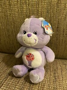 20th Anniversary Care Bears Share Bear (with Tag!)
