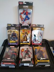 "AMAZING Lot of (7) RARE Marvel Legends BAF 6"" Action Figures~~ALL DIFFERENT~~NIP"
