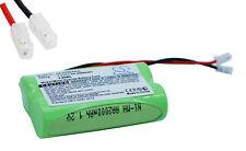 Battery NI-MH Connector Universal 2.4V 2000mAh 2X Aa
