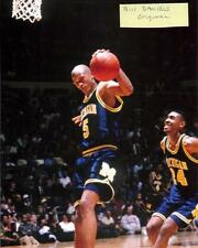 JALEN ROSE INDIANA PACERS MICHIGAN 1992-1993 FAB 5 8 X 10 PHOTO 3